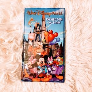 Walt Disney World Pressed Penny Coin Collection